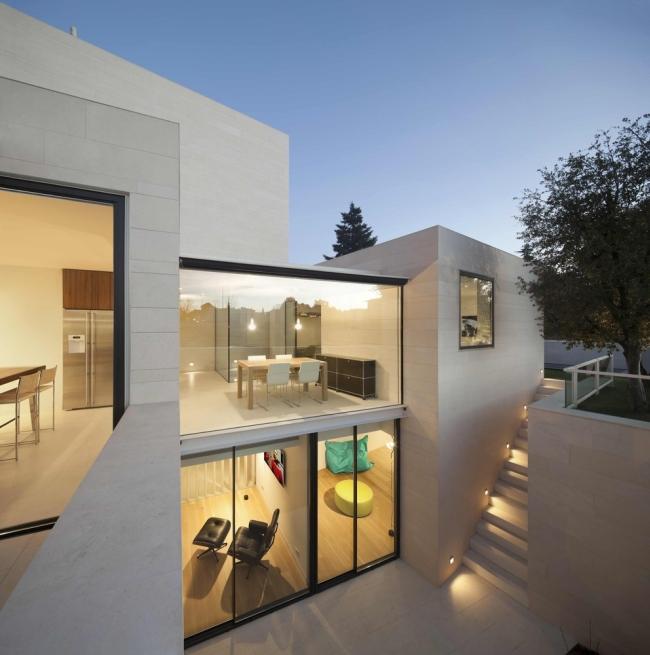 nowoczesny luksusowy dom igualada hiszpania projekt 13