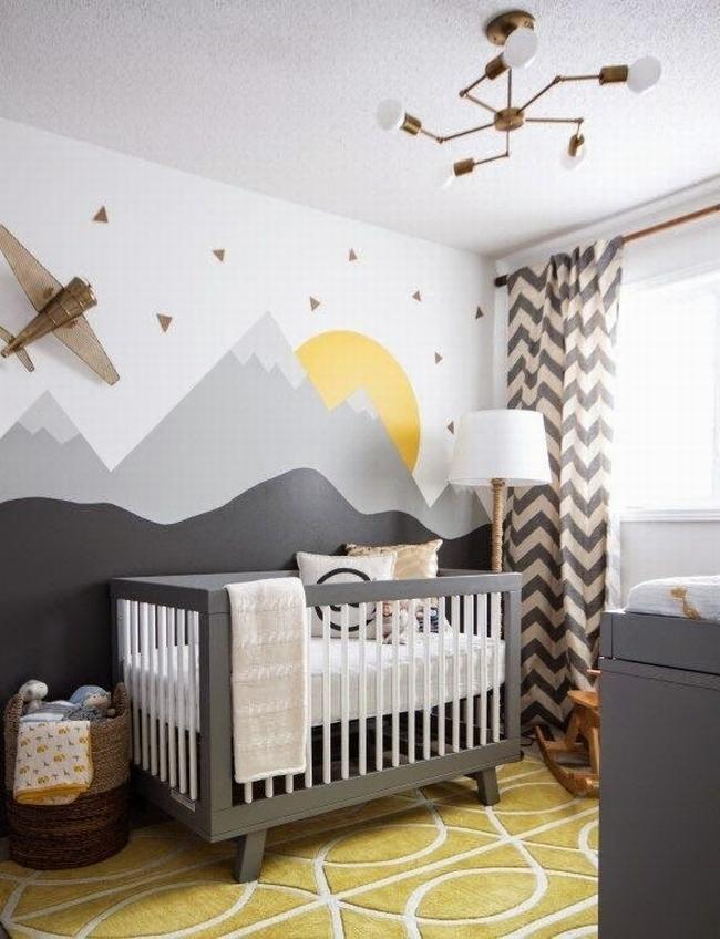 pokój dla niemowlęcia pokój dla dziecka dekoracje pokoju dla dziecka design pokoju dla dziecka pokoik dla niemowlaka 01