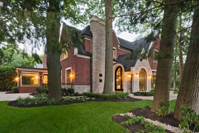 willa amerykańska luksusowa rezydencja willa posiadłość w stylu amerykańskim dom amerykański 01