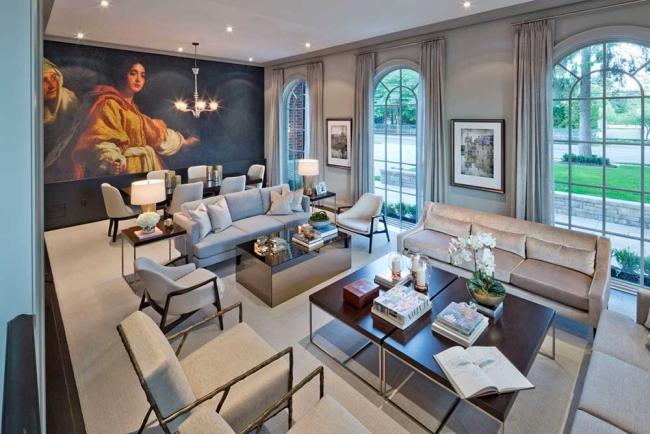 willa amerykańska luksusowa rezydencja willa posiadłość w stylu amerykańskim dom amerykański 05