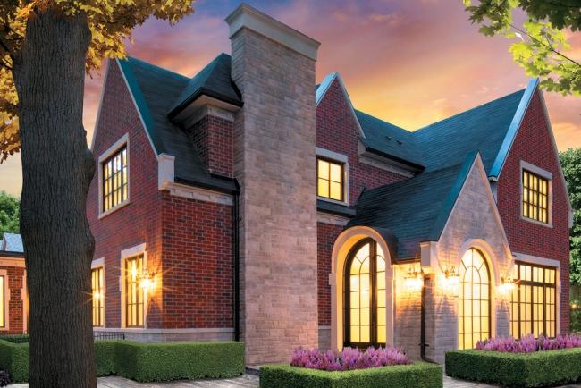 willa amerykańska luksusowa rezydencja willa posiadłość w stylu amerykańskim dom amerykański 14