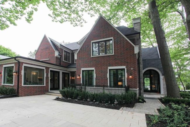 willa amerykańska luksusowa rezydencja willa posiadłość w stylu amerykańskim dom amerykański 38