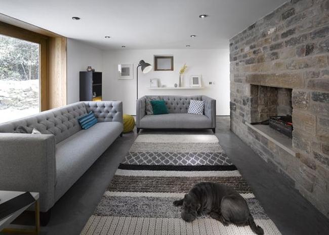 wspaniałe stodoły zamienione w domy nowoczesne stodoły mieszkalne renowacja stodoły cat hill barn Anglia 00