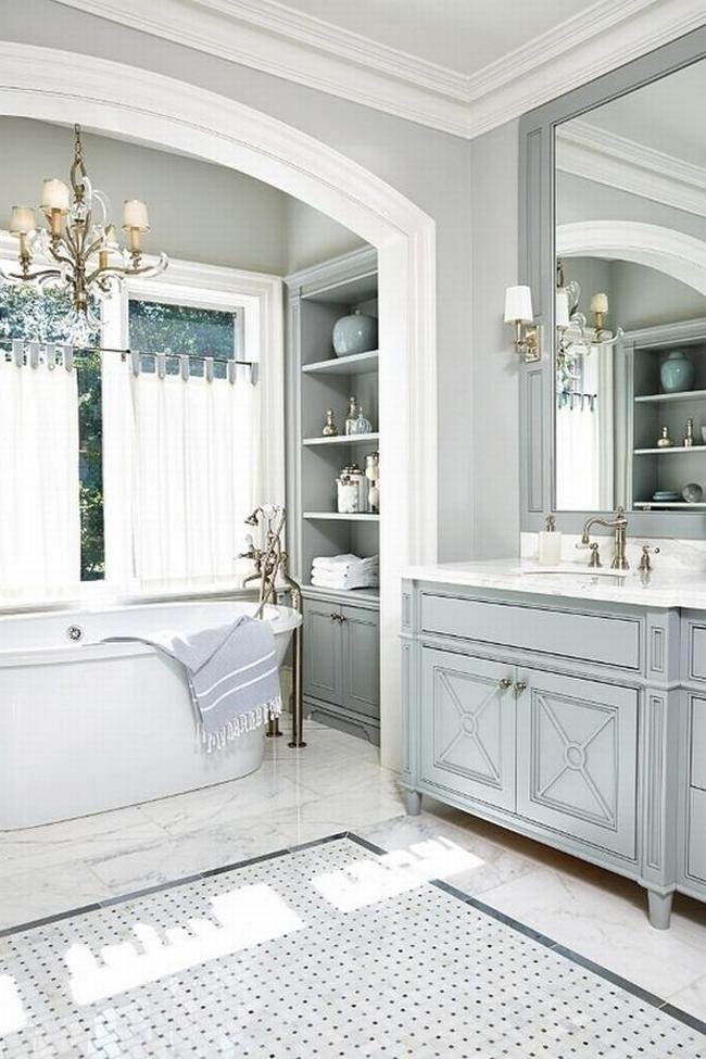 łazienka amerykańska łazienka w stylu amerykańskim amerykański dom i wnętrze inspiracje pomysły jak urządzić łazienkę w domu 84