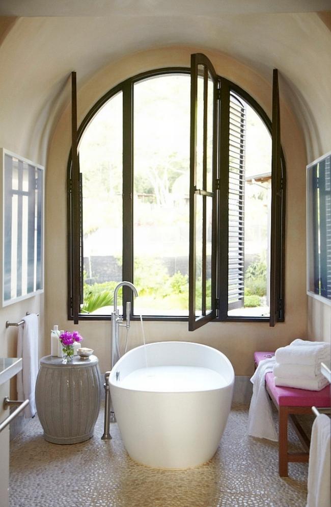 łazienka amerykańska łazienka w stylu amerykańskim amerykański dom i wnętrze inspiracje pomysły jak urządzić łazienkę w domu 85