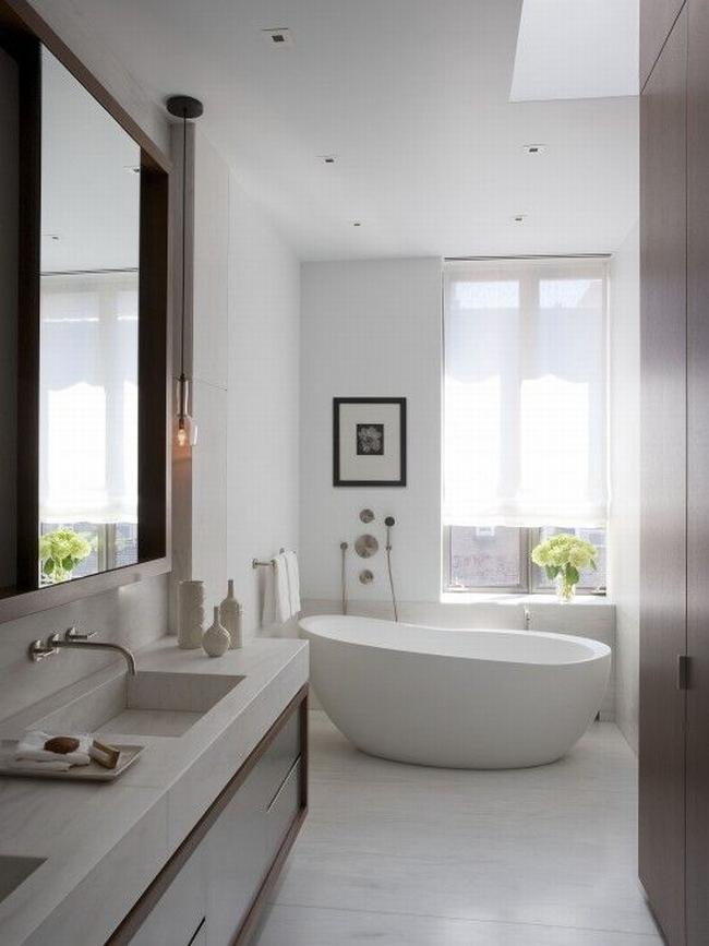 Amerykańska łazienka w stylu amerykańskim amerykański dom i wnętrze inspiracje pomysły jak urządzić łazienkę w domu 02