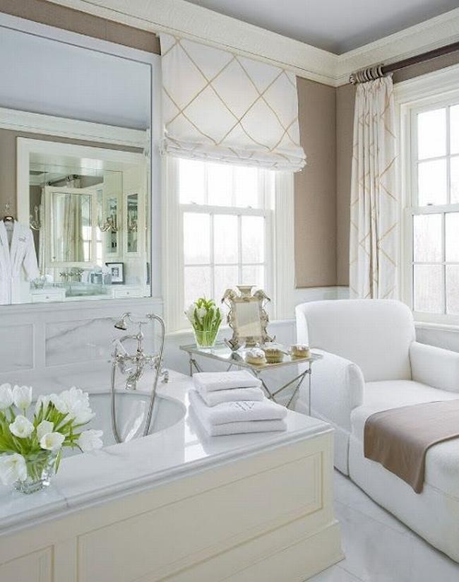 Amerykańska łazienka w stylu amerykańskim amerykański dom i wnętrze inspiracje pomysły jak urządzić łazienkę w domu 03