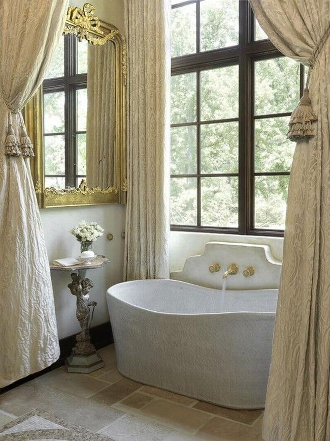Amerykańska łazienka w stylu amerykańskim amerykański dom i wnętrze inspiracje pomysły jak urządzić łazienkę w domu 04