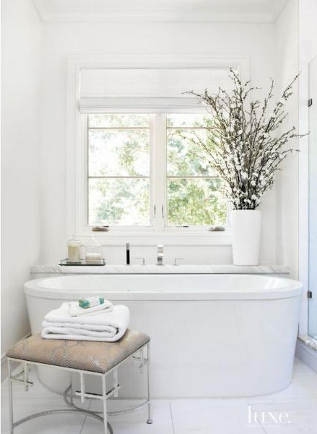 Amerykańska łazienka w stylu amerykańskim amerykański dom i wnętrze inspiracje pomysły jak urządzić łazienkę w domu 06