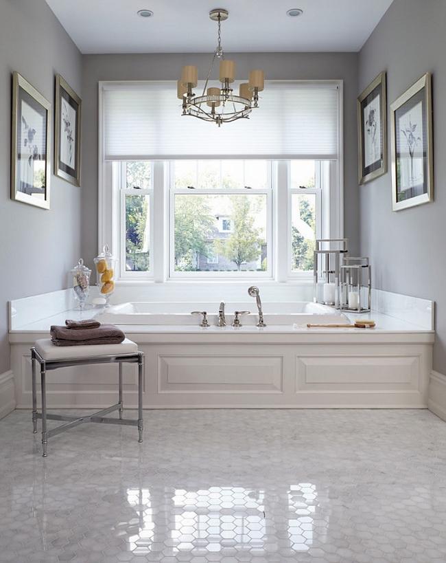 Amerykańska łazienka w stylu amerykańskim amerykański dom i wnętrze inspiracje pomysły jak urządzić łazienkę w domu 32