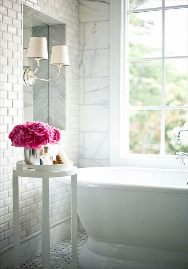 Amerykańska łazienka w stylu amerykańskim amerykański dom i wnętrze inspiracje pomysły jak urządzić łazienkę w domu 37