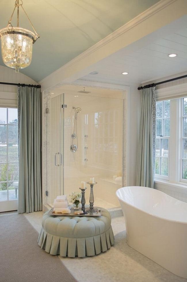 Amerykańska łazienka w stylu amerykańskim amerykański dom i wnętrze inspiracje pomysły jak urządzić łazienkę w domu 40