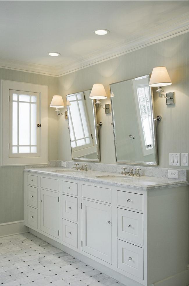Amerykańska łazienka w stylu amerykańskim amerykański dom i wnętrze inspiracje pomysły jak urządzić łazienkę w domu 49