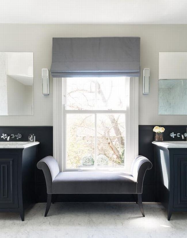 Amerykańska łazienka w stylu amerykańskim amerykański dom i wnętrze inspiracje pomysły jak urządzić łazienkę w domu 58