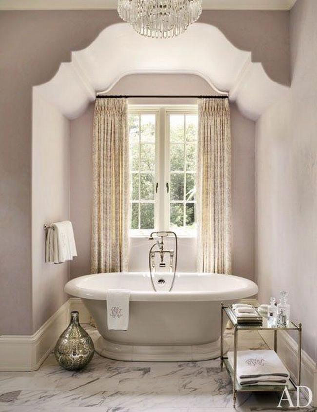 Amerykańska łazienka w stylu amerykańskim amerykański dom i wnętrze inspiracje pomysły jak urządzić łazienkę w domu 63