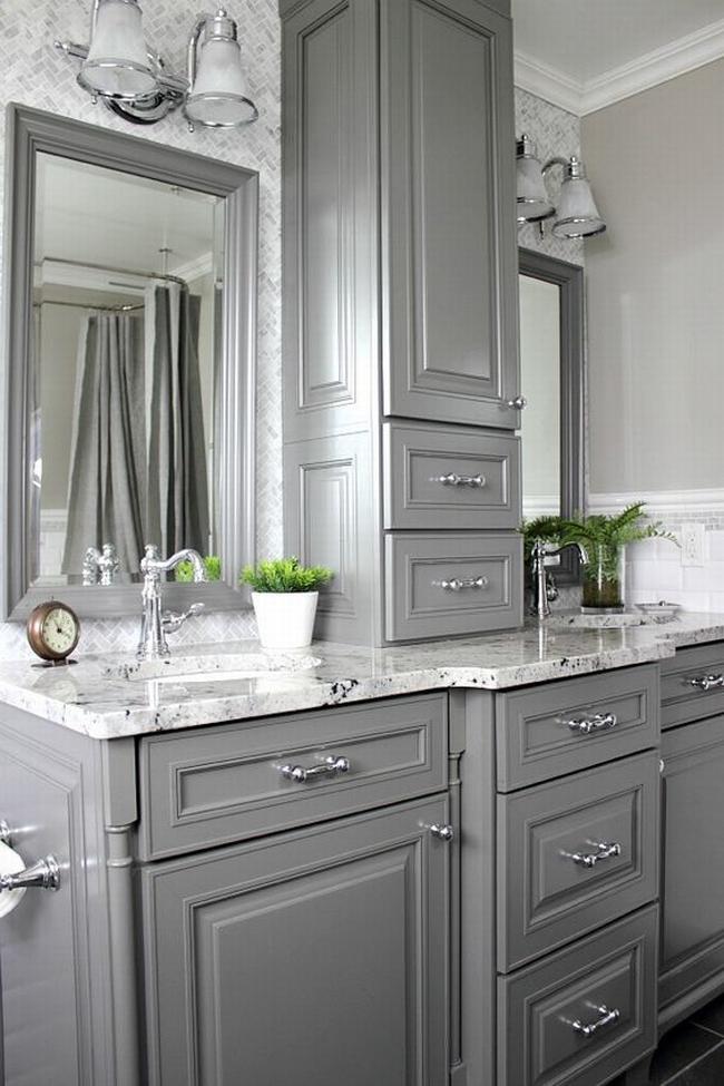 Amerykańska łazienka w stylu amerykańskim amerykański dom i wnętrze inspiracje pomysły jak urządzić łazienkę w domu 64