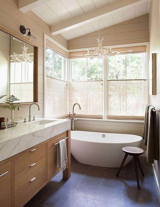 Amerykańska łazienka w stylu amerykańskim amerykański dom i wnętrze inspiracje pomysły jak urządzić łazienkę w domu 65