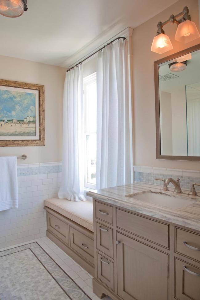 Amerykańska łazienka w stylu amerykańskim amerykański dom i wnętrze inspiracje pomysły jak urządzić łazienkę w domu 71