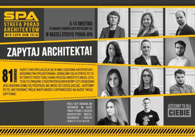 Strefa-Porad-Architekta-rzeszowskie-targi-pani-dyrektor-zespół-architektów-2016