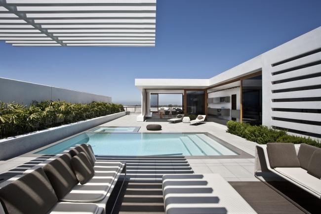 ekskluzywna rezydencja luksusowy dom nowoczesny willa marzeń projekt realizacja dom amerykański inspiracje 14