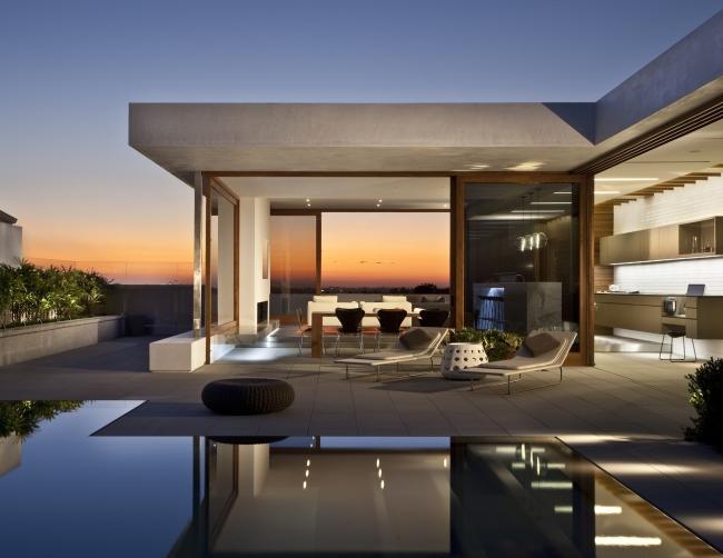 ekskluzywna rezydencja luksusowy dom nowoczesny willa marzeń projekt realizacja dom amerykański inspiracje 27
