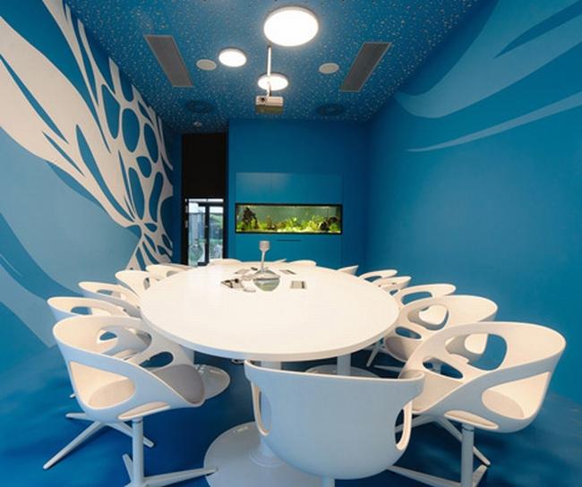 kreatywna przestrzeń biurowa wnętrze biurowe miejsce pracyw biurze inspiracje pomysły design biura 09