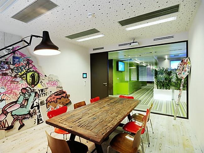 kreatywna przestrzeń biurowa wnętrze biurowe miejsce pracyw biurze inspiracje pomysły design biura 27