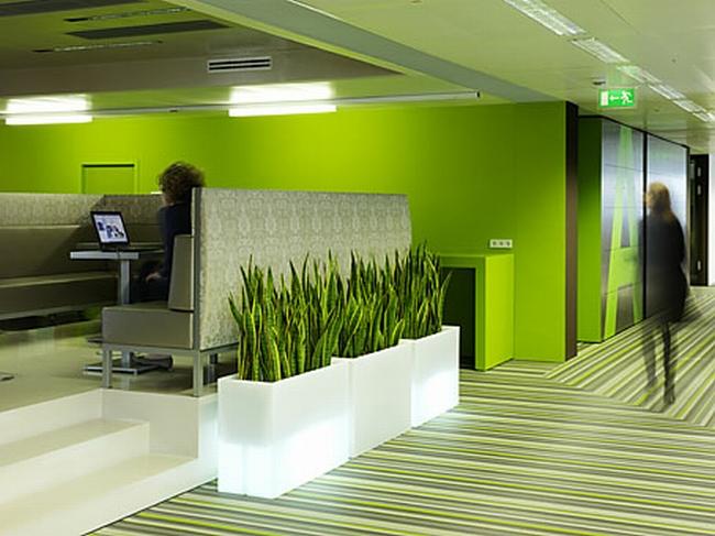 kreatywna przestrzeń biurowa wnętrze biurowe miejsce pracyw biurze inspiracje pomysły design biura 30