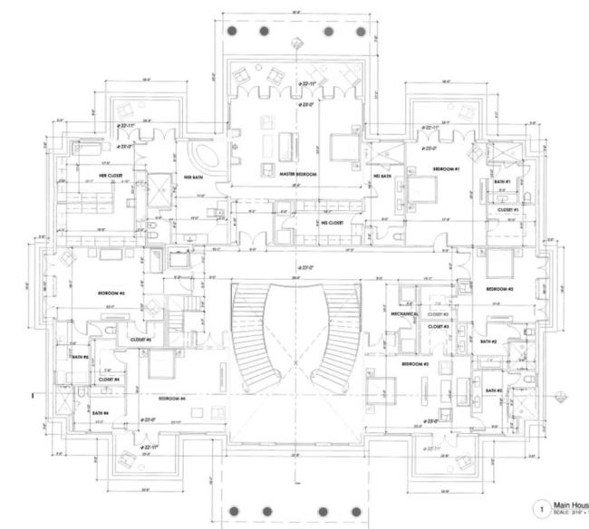 lisa hochstein house dom amerykański luksusowa rezydencja domy gwiazd amerykańska willa marzeń 33
