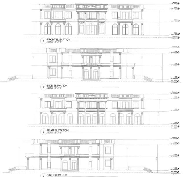 lisa hochstein house dom amerykański luksusowa rezydencja domy gwiazd amerykańska willa marzeń 38