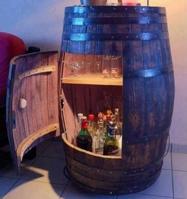 Bourbon Display Shelves