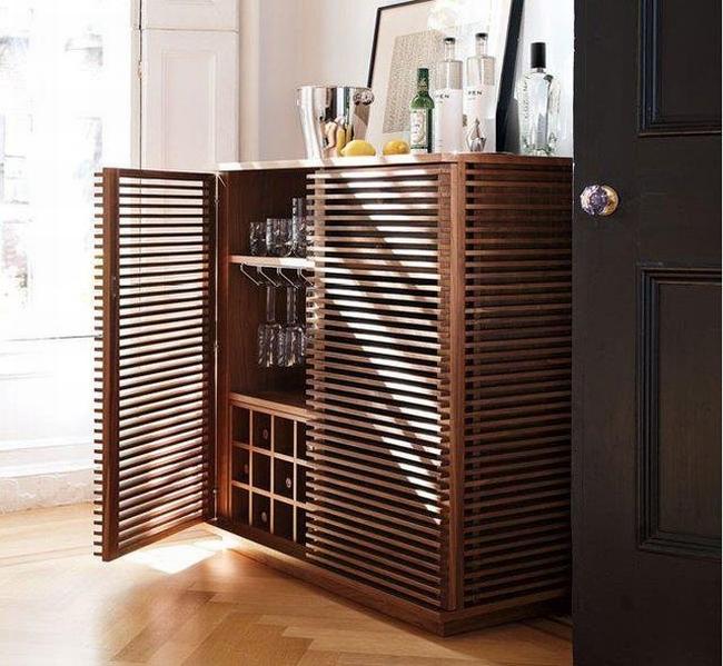 miejsce na alkohol mini barek bar gdzie w domu umieścić alkohol inspiracje pomysły rozwiązania 43