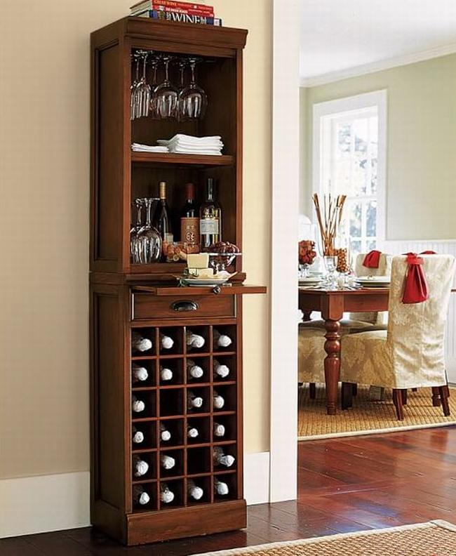 miejsce na alkohol mini barek bar gdzie w domu umieścić alkohol inspiracje pomysły rozwiązania 44