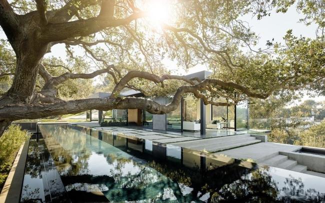 nowoczesna luksusowa willa marzeń nowoczesny dom inspiracje projekt nowoczesna rezydencja 64