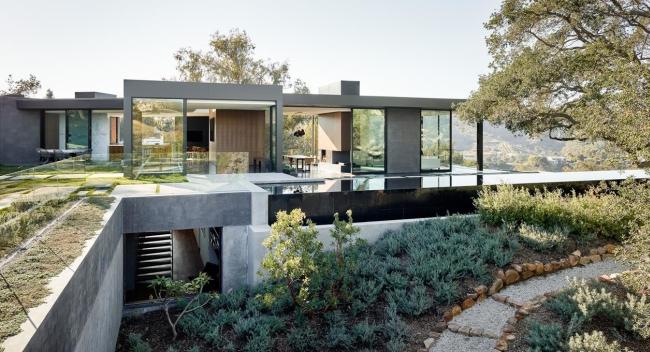nowoczesna luksusowa willa marzeń nowoczesny dom inspiracje projekt nowoczesna rezydencja 76