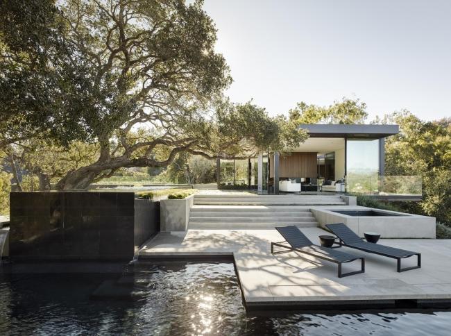 nowoczesna luksusowa willa marzeń nowoczesny dom inspiracje projekt nowoczesna rezydencja 62