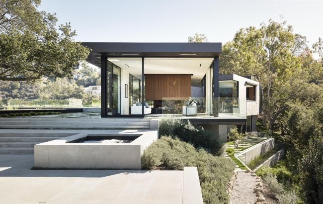 nowoczesna luksusowa willa marzeń nowoczesny dom inspiracje projekt nowoczesna rezydencja 72