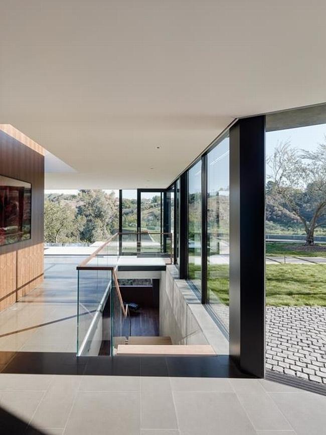 nowoczesna luksusowa willa marzeń nowoczesny dom inspiracje projekt nowoczesna rezydencja 86