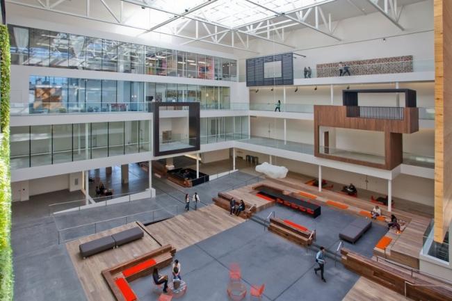 nowoczesne biura wielkich korporacji projekt nowoczesne wnętrze pomysłowe design inspiracja jak urzadzic wnetrze pomysl 05