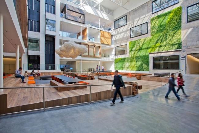 nowoczesne biura wielkich korporacji projekt nowoczesne wnętrze pomysłowe design inspiracja jak urzadzic wnetrze pomysl 13