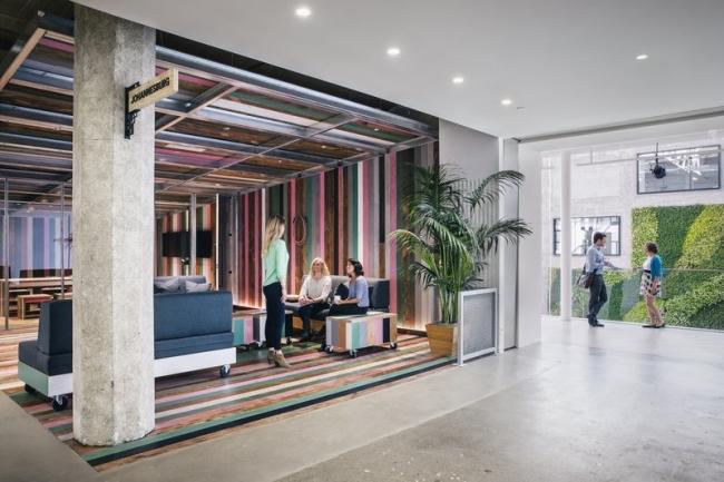 nowoczesne biura wielkich korporacji projekt nowoczesne wnętrze pomysłowe design inspiracja jak urzadzic wnetrze pomysl 21