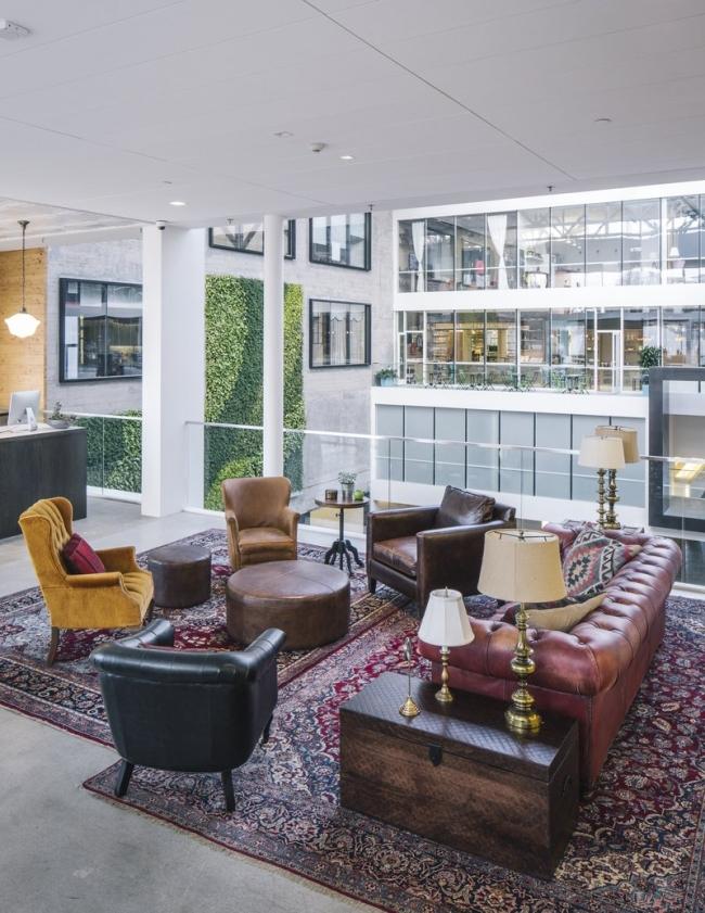 nowoczesne biura wielkich korporacji projekt nowoczesne wnętrze pomysłowe design inspiracja jak urzadzic wnetrze pomysl 27