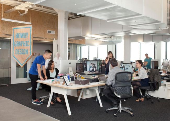 nowoczesne biura wielkich korporacji projekt nowoczesne wnętrze pomysłowe design inspiracja jak urzadzic wnetrze pomysl 410