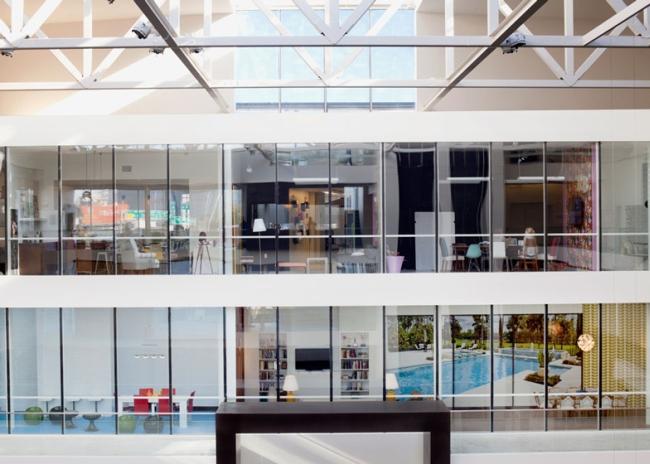 nowoczesne biura wielkich korporacji projekt nowoczesne wnętrze pomysłowe design inspiracja jak urzadzic wnetrze pomysl 46