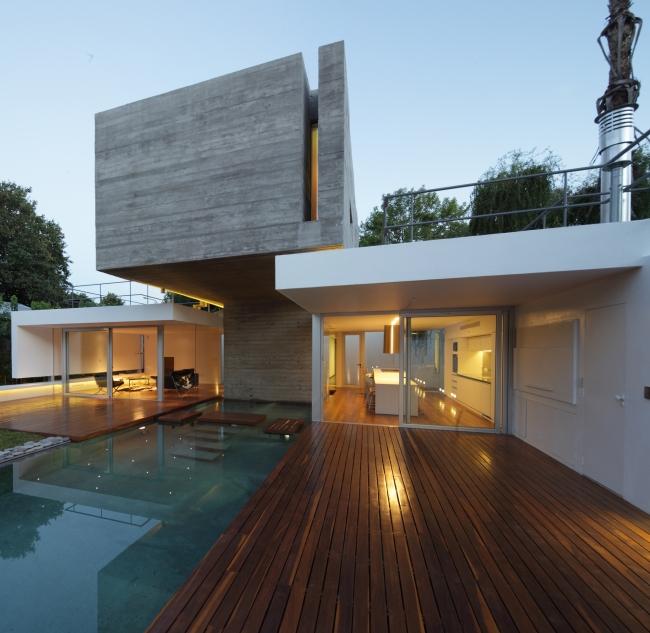 projekt nowoczesnego domu bunker house inspiracje luksusowa rezydencja willa marzeń wille marzeń 24
