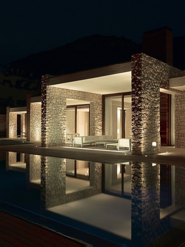 luksusowa willa marzeń wille marzeń dom w Hiszpanii inspiracje projekt nowoczesnego domu 16