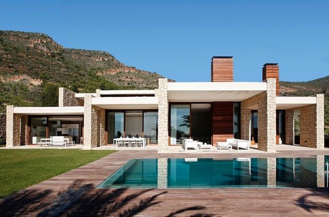 luksusowa willa marzeń wille marzeń dom w Hiszpanii inspiracje projekt nowoczesnego domu 17