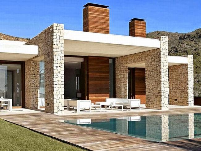 luksusowa willa marzeń wille marzeń dom w Hiszpanii inspiracje projekt nowoczesnego domu 24