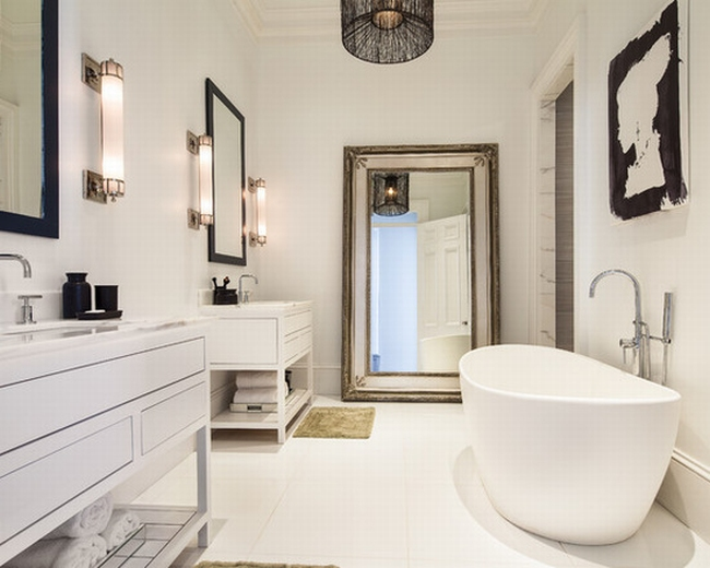 romantyczna łazienka w stylu francuskim łazienka glamour zdobiona łazienka delikatna łazienka bogata łazienka inspiracje 03