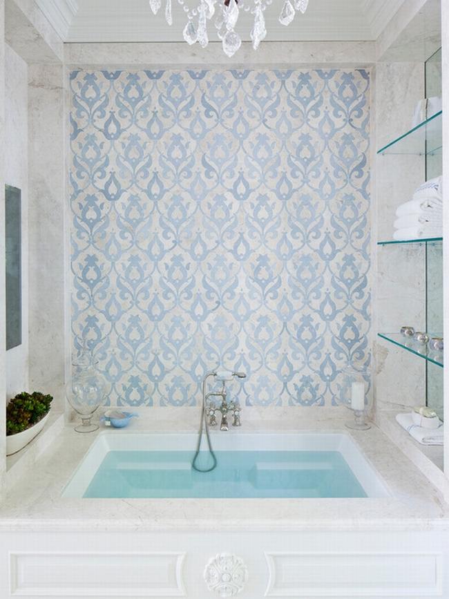 romantyczna łazienka w stylu francuskim łazienka glamour zdobiona łazienka delikatna łazienka bogata łazienka inspiracje 05